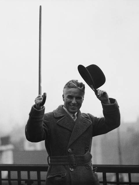 On this day in 1977, comedian Sir Charles Chaplin died in Switzerland at age 88.