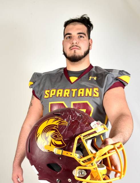 Wyoming Valley West offensive lineman Chris Bleich is the 2017 Times Leader Football Player of the Year.