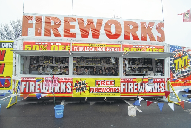 New Year's Eve is the first big holiday under a new law that legalizes a host of fireworks previously not allowed in Pennsylvania.