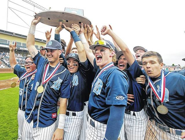 The Dallas Mountaineers became the second team ever from the WVC to hold up a PIAA baseball championship trophy after defeating South Park 5-0 in State College.