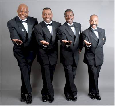Vocal legends The Drifters will perform on April 14 at the F.M. Kirby Center in Wilkes-Barre.