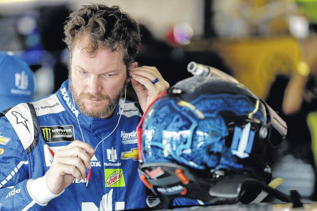 Dale Earnhardt Jr. visited Pocono Raceway twice this summer during his last go-around on the track before retiring from NASCAR racing.
