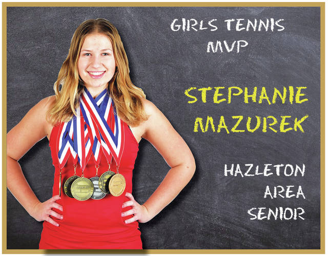 Mazurek, Hazleton Area tennis program have grown — and succeeded — together