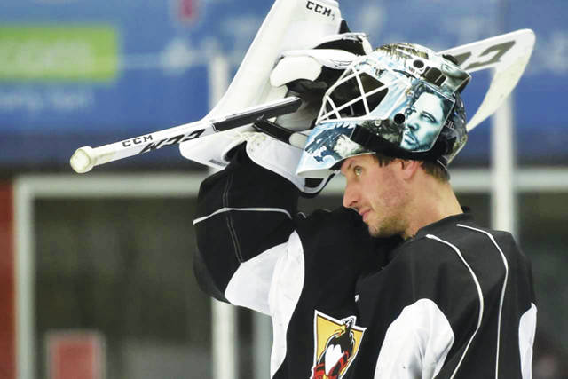 Michael Leighton is the AHL's career leader in saves with 50. Six of those have come against the Wilkes-Barre/Scranton Penguins.