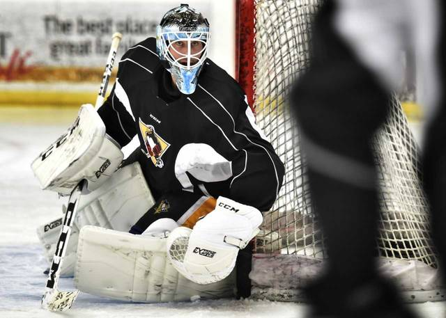 Newly-acquired goaltender Michael Leighton played his first game against Wilkes-Barre/Scranton as a rookie in 2001.