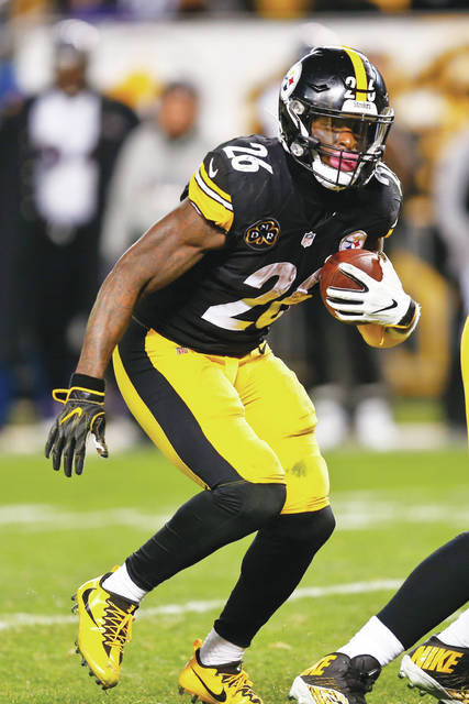 Pittsburgh running back Le'Veon Bell was one of eight Steelers selected to the Pro Bowl. (AP Photo/Keith Srakocic)