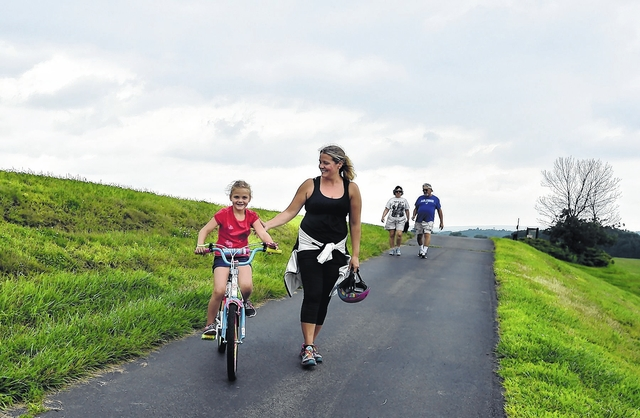 An easy, 5-mile hike will take place along the Wyoming Valley Levee on Dec. 31.