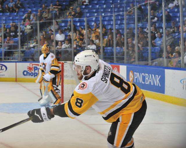 Pens blueliner Kevin Spinozzi gained early hockey experience