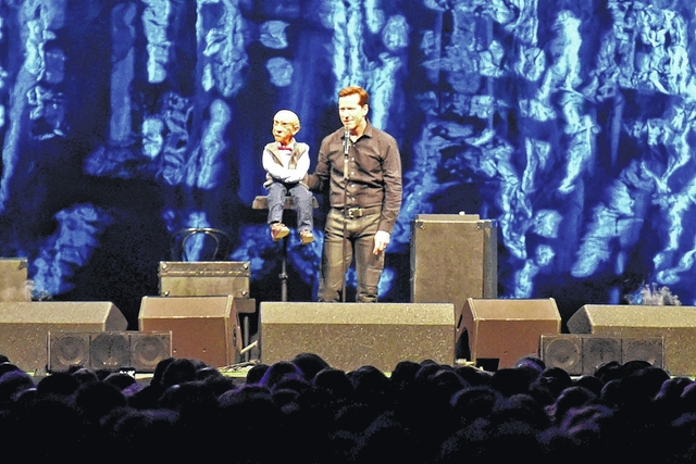 Popular ventriloquist and comedian Jeff Dunham will perform on Dec. 30 at the Mohegan Sun Arena in Wilkes-Barre Township.