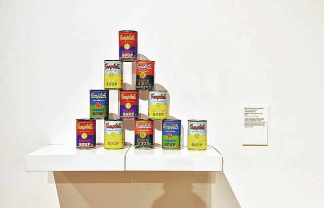 An exhibit featuring the works of iconic pop artist Andy Warhol will be on display through Dec. 20 at the Sordoni Art Gallery on the Wilkes University campus in Wilkes-Barre.