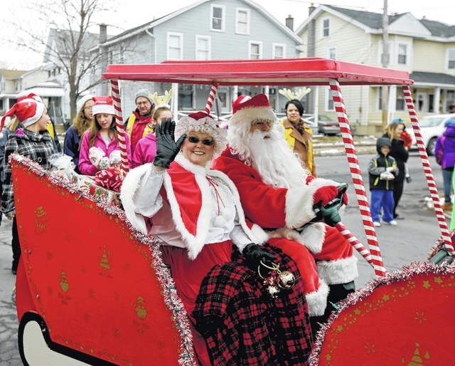 The Parsons Santa Parade will start at 10 a.m. tomorrow in the Parsons section of Wilkes-Barre. Lineup begins at 9:30 a.m. at Schiel's Market on George Avenue.
