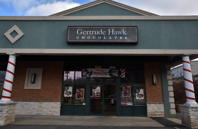 Gertrude Hawk Chocolates' Wilkes-Barre location on Mundy Street.