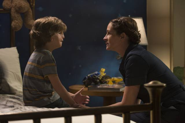 Born with facial differences that, up until now, have prevented him from going to a mainstream school, Auggie Pullman becomes the most unlikely of heroes when he enters the local fifth grade in 'Wonder,' which stars Jacob Temblay and Julia Roberts.