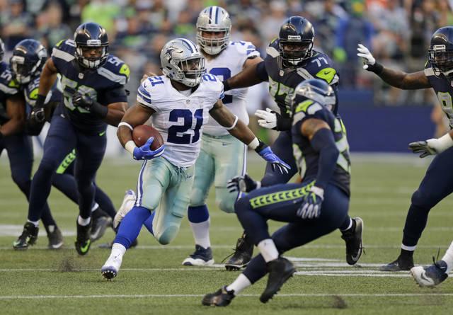 Zeke's return major test for Seahawks struggling run defense