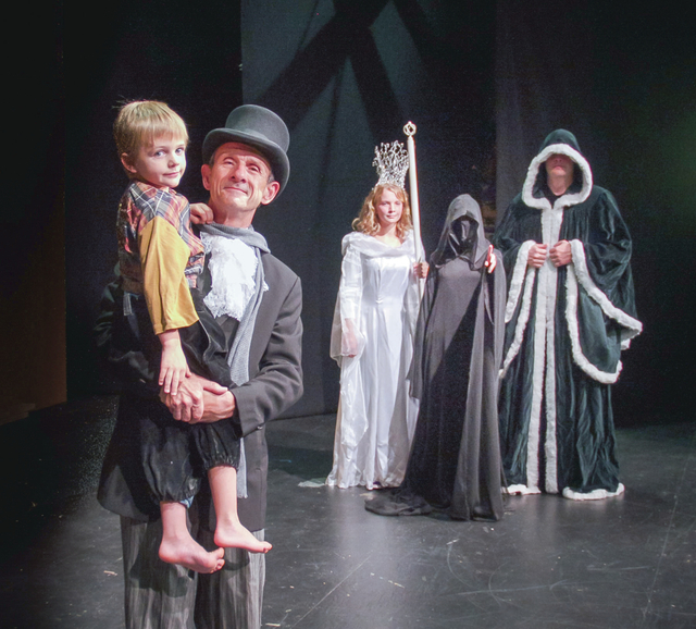 A theatrical adaptation of the classic Charles Dickens holiday tale of ghosts, redemption and the true meaning of Christmas, 'A Christmas Carol,' will be shown tonight at the Waverly Community House.