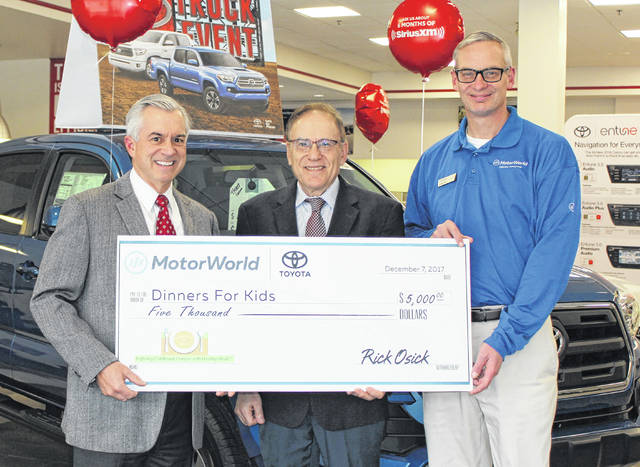 Motorworld Toyota Supports Dinners For Kids Times Leader