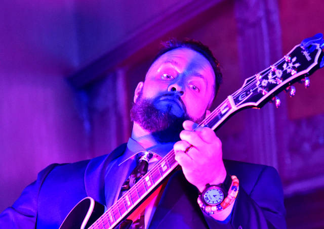 Suze frontman Adam McKinley befriended late Carve 4 Cancer founder Brent P Evans six years ago. The band will play a tribute to New York jamband moe. during their Monday performance at the River Street Jazz Cafe, and a portion of the evenings proceeds will be donated to the foundation Evans started.