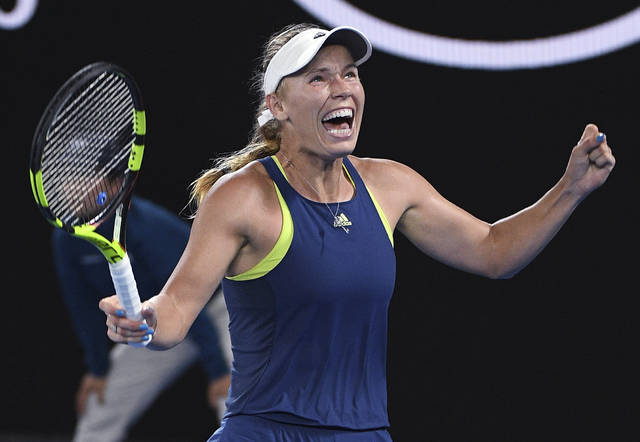 Caroline Wozniacki beats Simona Halep to win 1st major at Australian Open