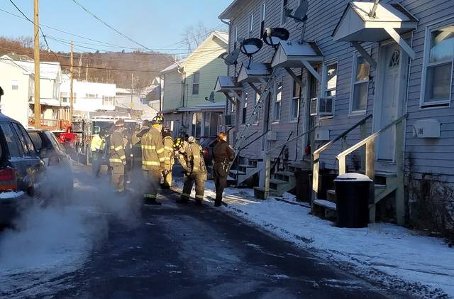 An electrical fire Monday morning displaced a Plymouth resident and her three pets.
