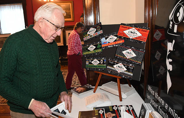 Dr. Richard Fitzsimmons, who has a deep family history in the local coal mining industry, was on hand for the program.