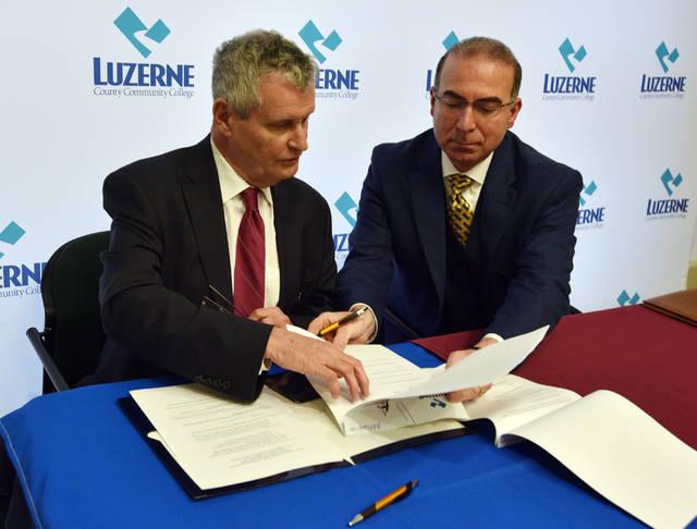 LCCC, Bloomsburg Sign Agreement On Cooperative Nursing Program | Times  Leader