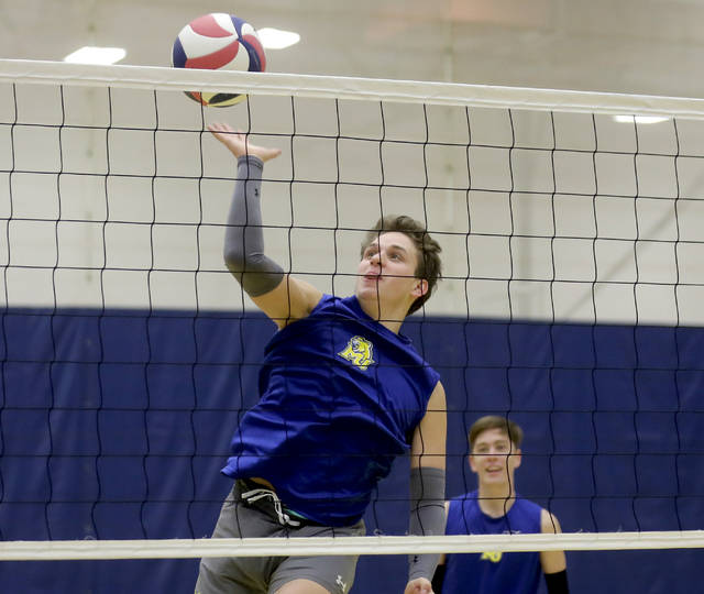 Misericordia freshman libero Michael Mohutsky comes to the Cougars after a successful career at Holy Redeemer. Mohutsky is the lone Wyoming Valley Conference alum on the team.