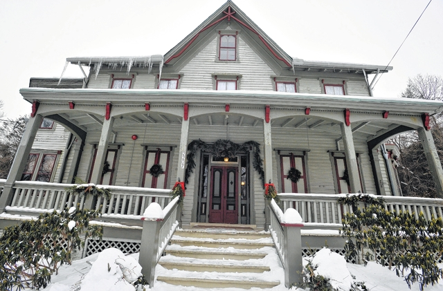The historic Sophia Coxe mansion in Hazle Township has been awarded $65,000 in Luzerne County community development funding for exterior restoration.