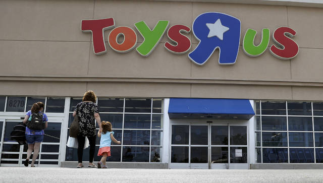 In This September Photo Shoppers Walk Into A Toys R Us Store San Antonio
