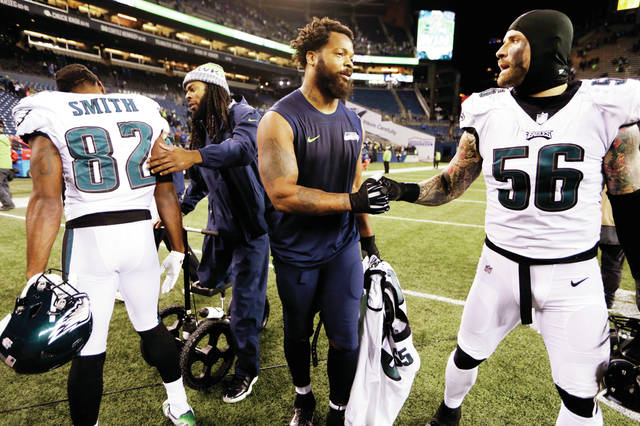 quality design 617b3 bf6f4 AP Sources: Eagles get Michael Bennett from Seattle | Times ...