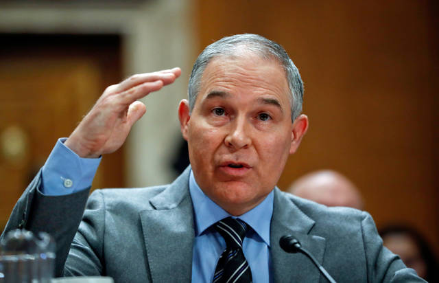Their view: A swamp monster is running the EPA