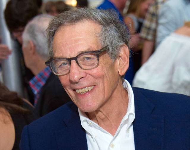 Robert Caro attends the East Hampton Library's 13th Annual Authors Night Benefit in East Hampton, N.Y., in 2017. Caro offered his observations on the 1960s in a speech Saturday, April 15, 2018, at the New-York Historical Society, weaving events in Lyndon Johnson's presidency with a pair of songs he said demonstrated the decade's disillusionment and hopes for change.