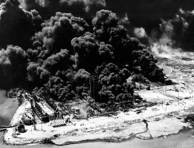 On this date in 1947, the cargo ship Grandcamp, carrying ammonium nitrate, blew up in the harbor in Texas City, Texas; a nearby ship, the High Flyer, which was carrying ammonium nitrate and sulfur, caught fire and exploded the following day; the blasts and fires killed nearly 600 people.