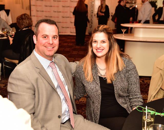 Bill and Kayleigh Werkeiser, of Performance Kia. 3/27/18. Sean McKeag | Times Leader