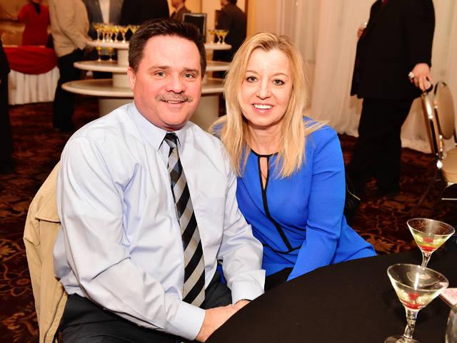 Tom Holland, Jr. and Marie Godlewski, of Agency Real Estate. 3/27/18. Sean McKeag | Times Leader