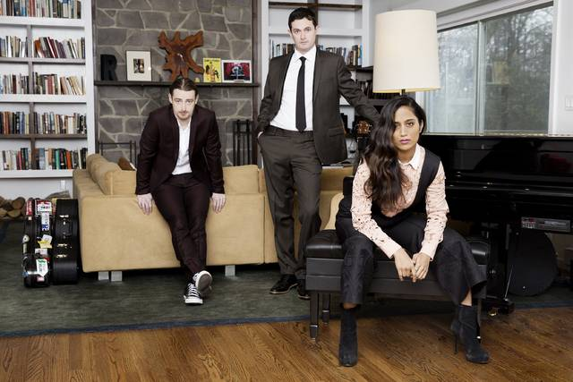 Brooklyn trio Everything Turned To Color infuses elements of jazz into indie folk. The group brings together the talents of alternative songwriters Brian and Kyle Weber and trained jazz vocalist and pianist Neha Jiwrajka.