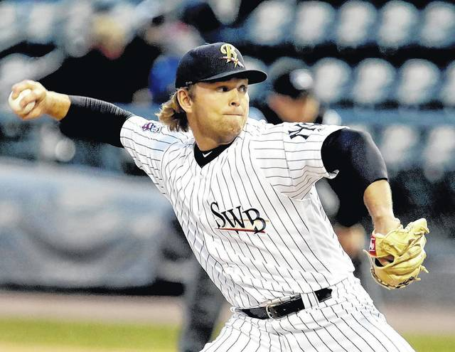 Scranton/Wilkes-Barre RailRiders starter Chance Adams built up confidence in his changeup after his start against Lehigh Valley on Wednesday.
