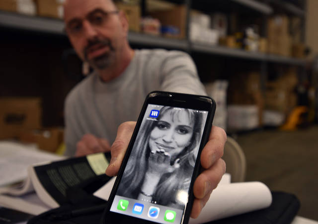 Leo Ellis keeps on his phone a photo of his daughter, Jessica, whose battle with body dysmorphic disorder led her to take her own life. Leo and his wife, Sharon, want to spread awareness of the disorder, which causes people to become obsessed with a perceived flaw in their appearance.