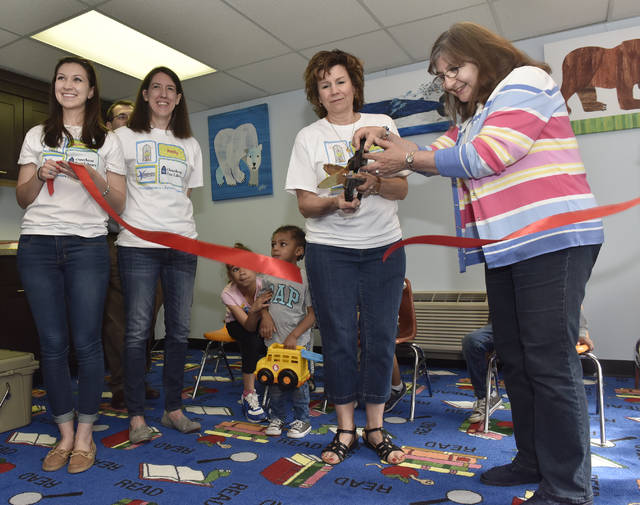 New children's room unveiled at Osterhout library thanks to team project
