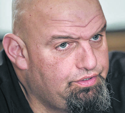 Fetterman defeats incumbent Stack in Dem primary for lieutenant governor