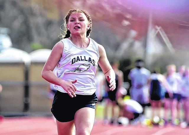 Mazula Sets School Record As Dallas Edges Pittston Area In Girls