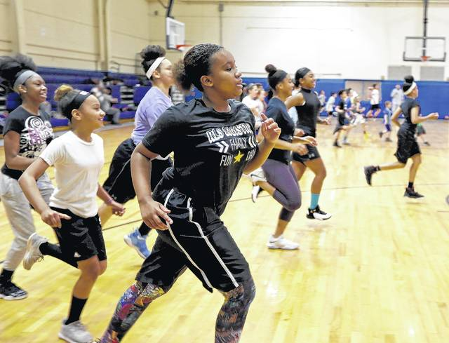 Basketball campers learning life lessons through WB