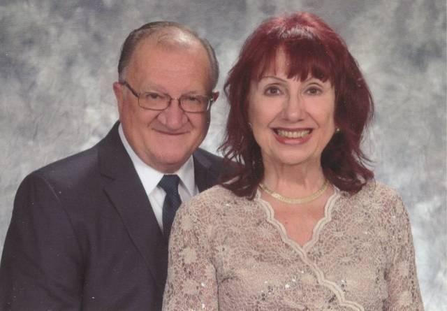 Mr. and Mrs. Paul Yablonski celebrate 25th anniversary