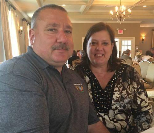 Mr. and Mrs. Daniel Hunsinger celebrate 35th anniversary