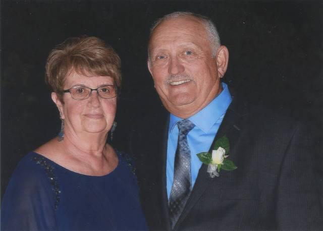 Mr. and Mrs. Jerome Uram celebrate 50th anniversary