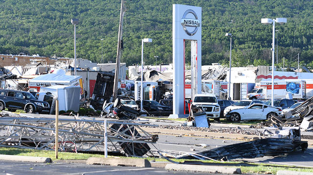 Tornado confirmed, now to assess the damage   Times Leader