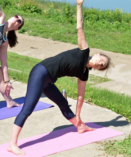 f6142004e20 Yoga on the River comes to Pittston Riverfront Park