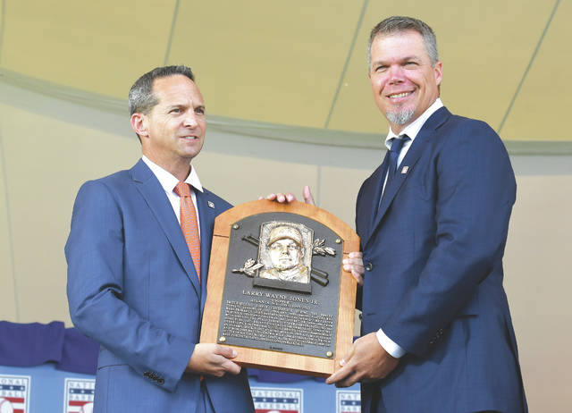 promo code 6f7ab b1040 Chipper Jones shines in Hall of Fame induction speech ...