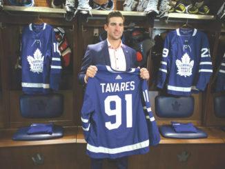 Homeward bound: Star center John Tavares chooses Maple Leafs