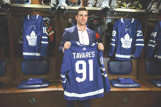 47b46b86ce5 Homeward bound  Star center John Tavares chooses Maple Leafs