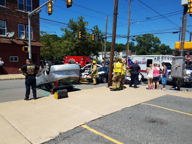 Accident in Wilkes-Barre leads to jaws-of-life extrication